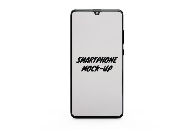 Smartphone-mock-up geïsoleerd Gratis Psd