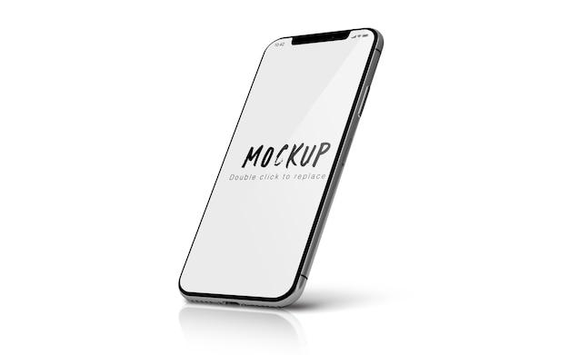 Smartphone mockup isolato psd Psd Premium