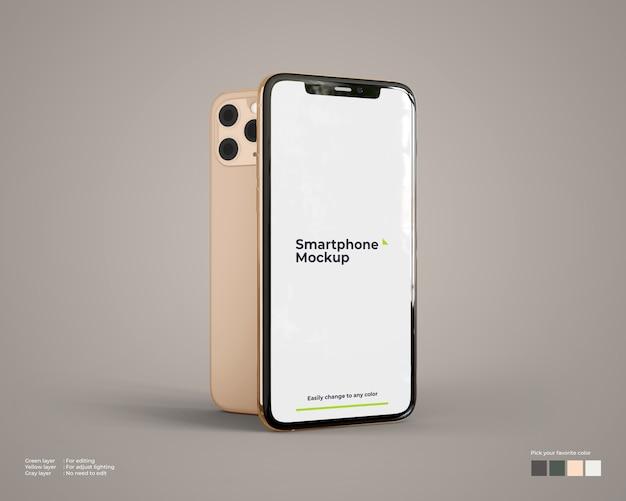 Smartphone-mockup Premium Psd