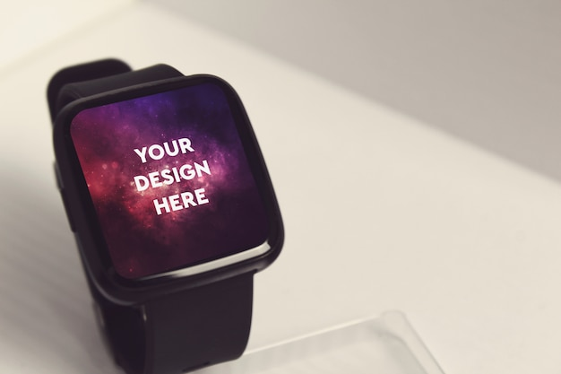 Smartwatch display mockup Psd Gratuite