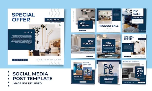 Social media banner frame Premium Psd