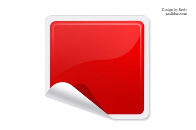 Sticker web lucido Psd Gratuite