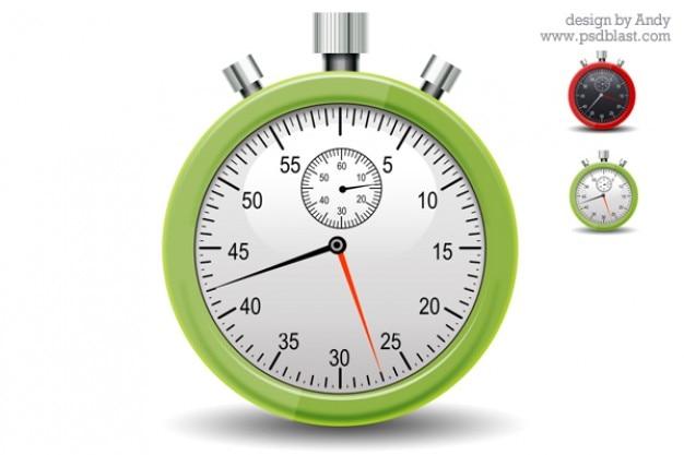 Stopwatchpictogram psd Gratis Psd