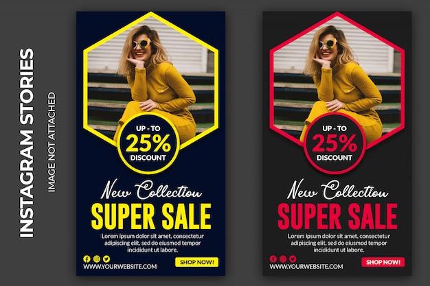 Super sale social story premium psd Psd Premium
