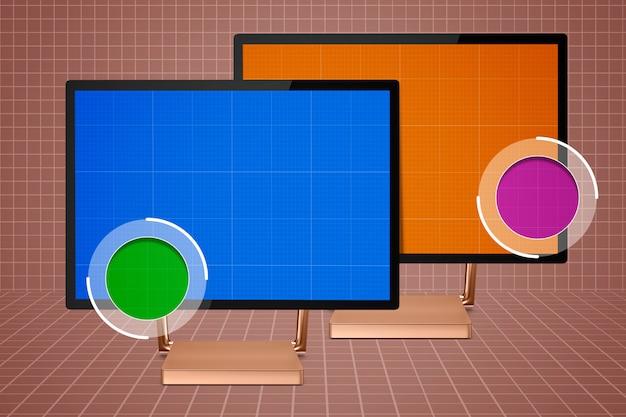 Surface studio inzoommodel Premium Psd