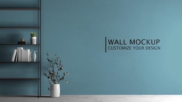 Surtido de estanterías de diseño de interiores PSD Premium