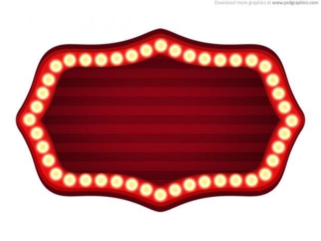 Teatro segno modello (psd) Psd Gratuite