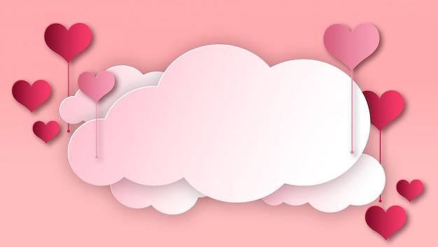 Telaio-felice-san valentino-giorni Psd Premium