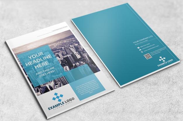 Tijdschrift of brochure mockup Premium Psd