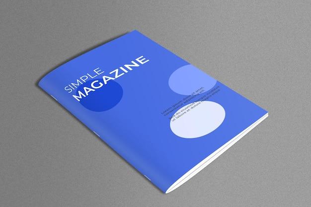 Tijdschriftmodel in marmeren oppervlak Gratis Psd