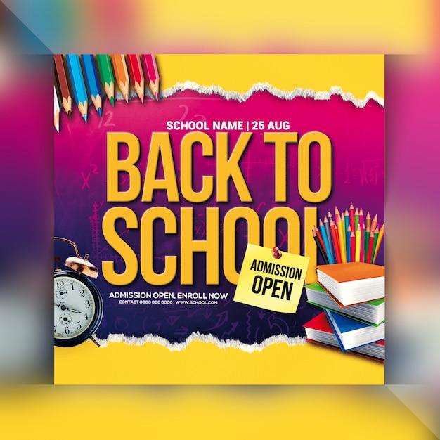 Torna al volantino della scuola Psd Premium