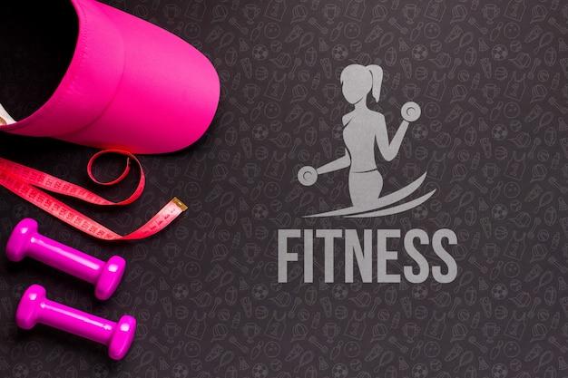Training fitnessapparatuur Gratis Psd