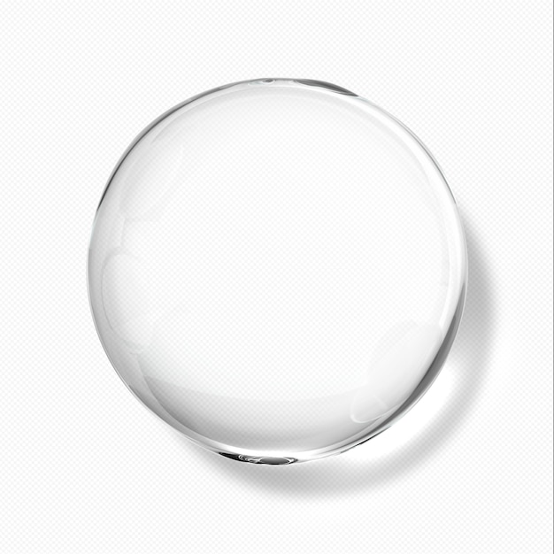 Transparante waterdruppeltjes Premium Psd