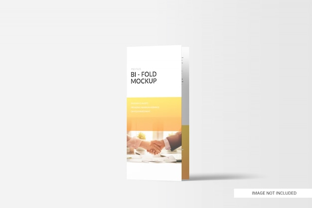 Tweevoudig brochure-model Premium Psd