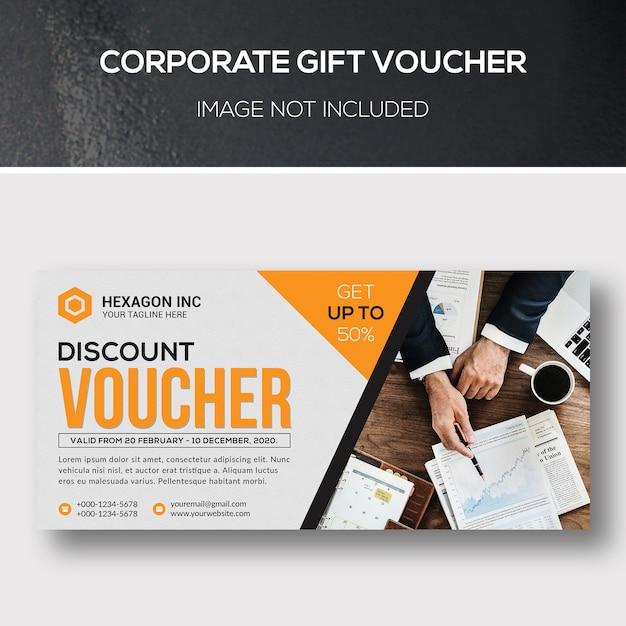 Vale de regalo corporativo PSD Premium