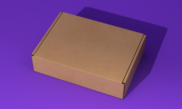 Verpakkingsdoos concept mock-up Gratis Psd