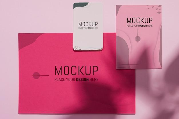Verschillende mock-ups voor zakelijke briefpapier Gratis Psd