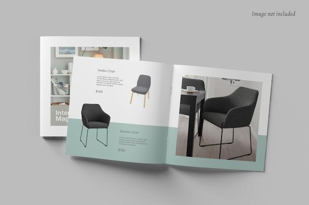 Vierkante brochure en catalogusmodel Premium Psd