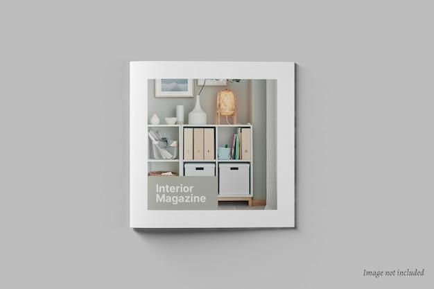 Vierkante brochure en catalogusomslagmodel Premium Psd