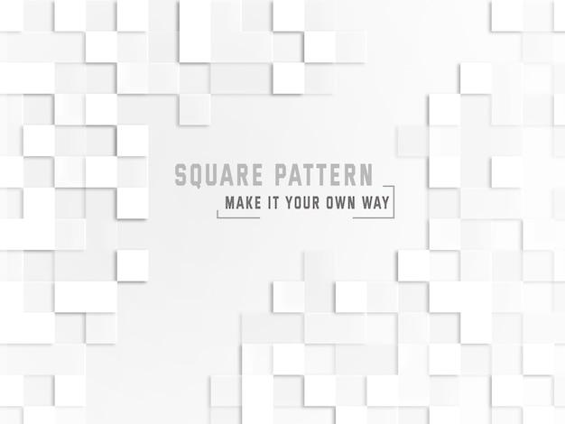 Vierkante patroonachtergrond Gratis Psd