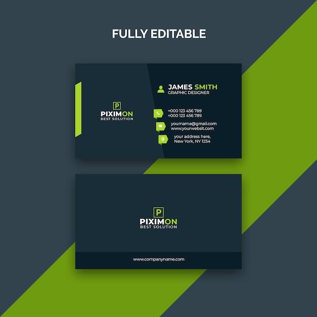 Visitekaartje Premium Psd