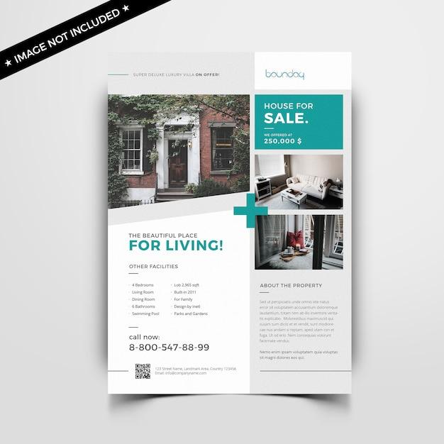 Volantino immobiliare Psd Premium