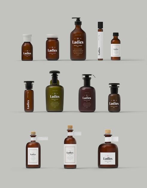 Vrouwelijke cosmetica Premium Psd