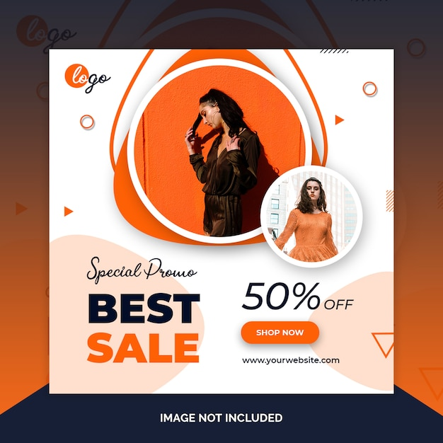 Weekend speciale verkoop sociale media webbanners Premium Psd