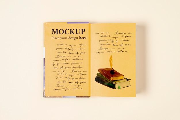 Wereldboekdag concept mock-up Gratis Psd