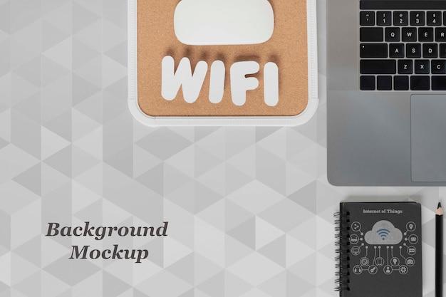Wifi-netwerk voor moderne apparaten Gratis Psd