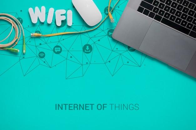 Wifi-verbinding voor apparaten met 5 g Gratis Psd