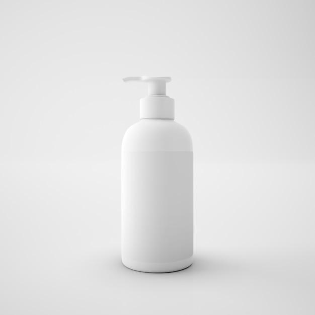 Witte plastic zeepbakje Gratis Psd