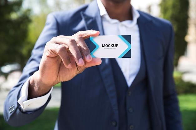 Zakelijk buitenconcept mock-up Premium Psd