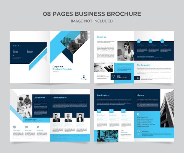 Zakelijk creatief brochureontwerp Premium Psd