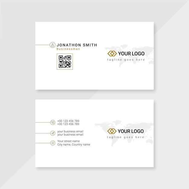 Zakelijk visitekaartje Premium Psd