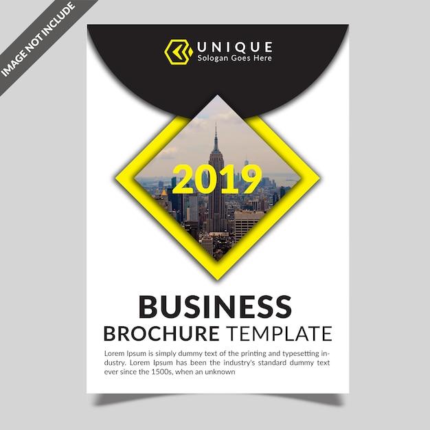 Zakelijke brochure sjabloon Premium Psd