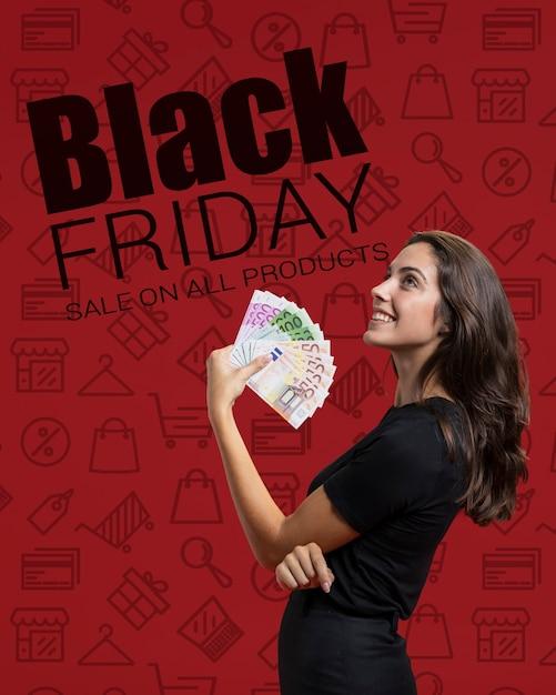 Les Achats En Ligne Disponibles Le Vendredi Noir Psd gratuit