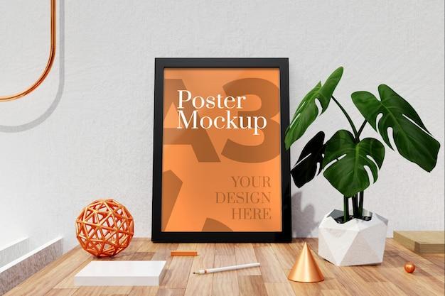 Affiche A3 Et Maquette De Cadres Photo PSD Premium
