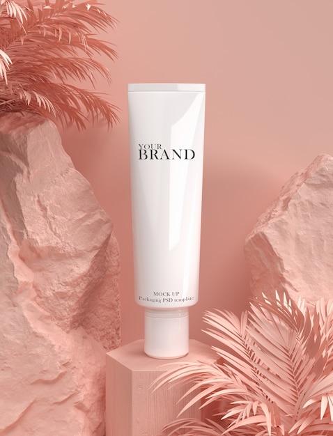 Annonce de produits hydratants pour les soins de la peau PSD Premium