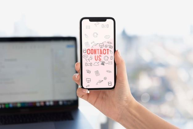 Appareils électroniques Avec Connexion Wifi PSD Premium