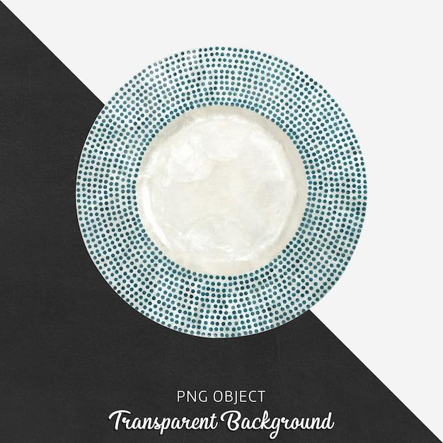 Assiette De Présentation Sur Transparent PSD Premium