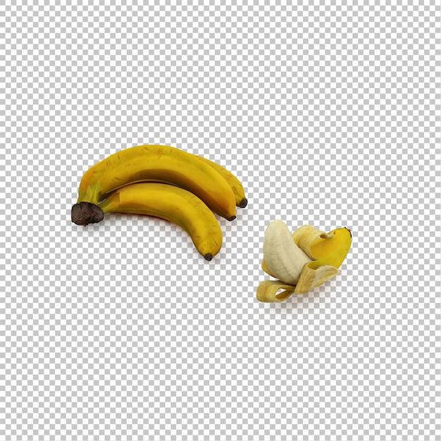 Bananes Isométriques PSD Premium