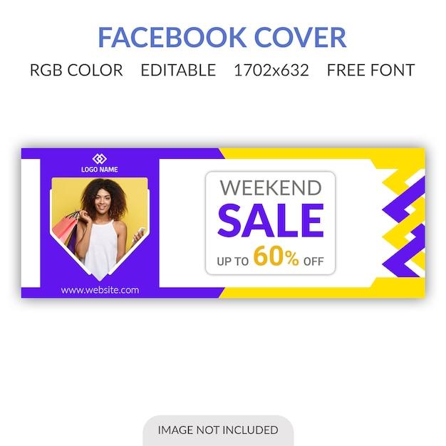 Bannière facebook PSD Premium