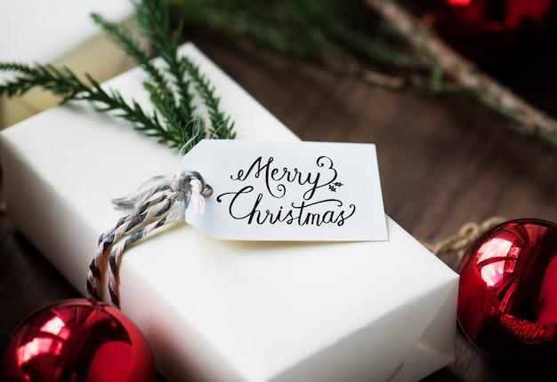 Boîtes à Cadeaux De Noël Psd gratuit