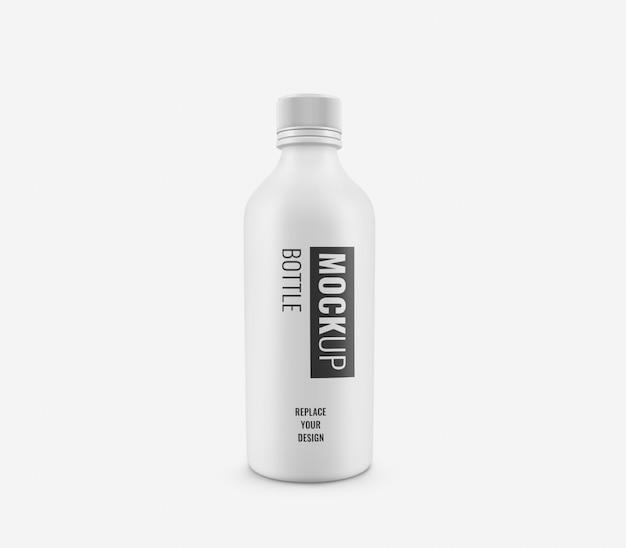 Bouteilles Maquette En Plastique Blanc PSD Premium