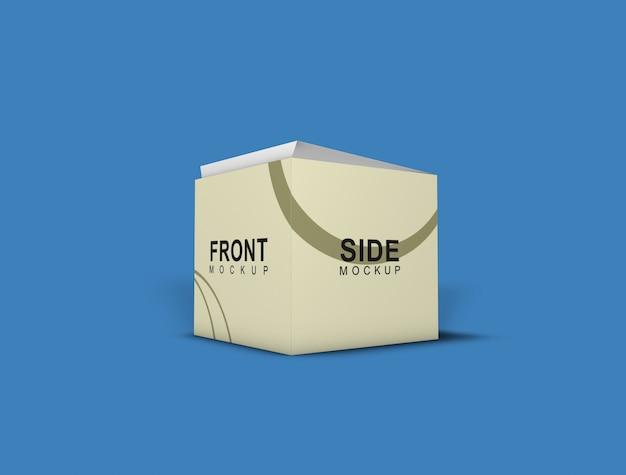 Box mockup - emballage PSD Premium