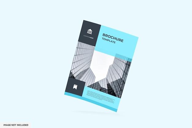 Brochure Ou Maquette De Flayer Vue De Face PSD Premium