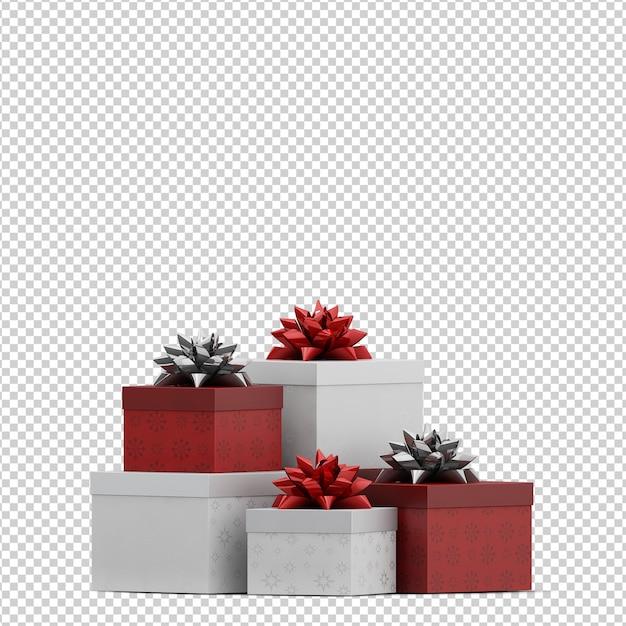 Cadeaux de noël PSD Premium