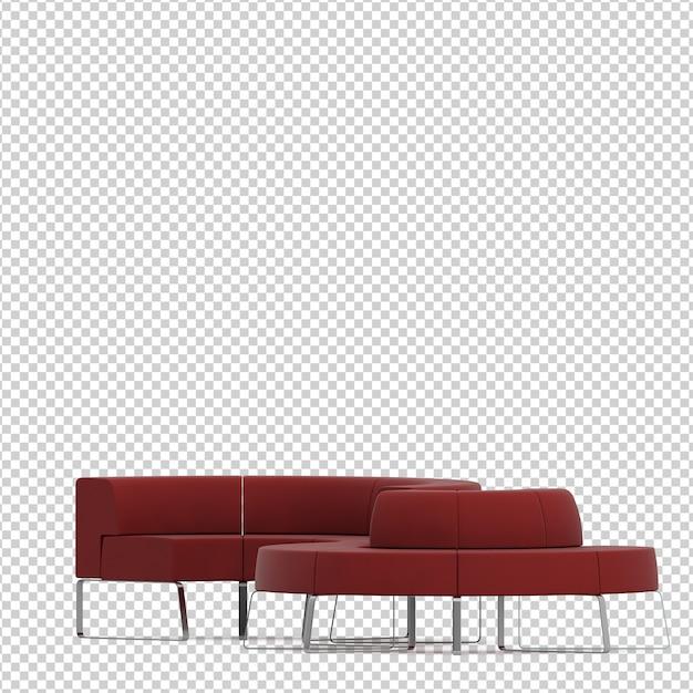 Canapé Isométrique PSD Premium
