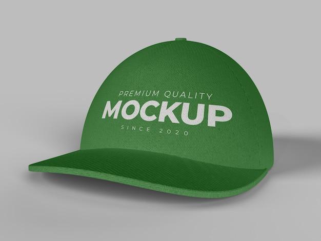 Cap Mockup Vue De Face Gros Plan PSD Premium